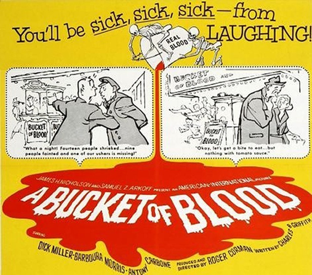 Bucket of Blood Poster